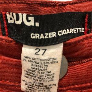 BDG Pants - BDG Twill Grazer Cigarette Pant